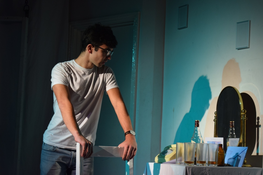 Jo Hilton as Mike, Mary's partially present boyfriend. (1).JPG