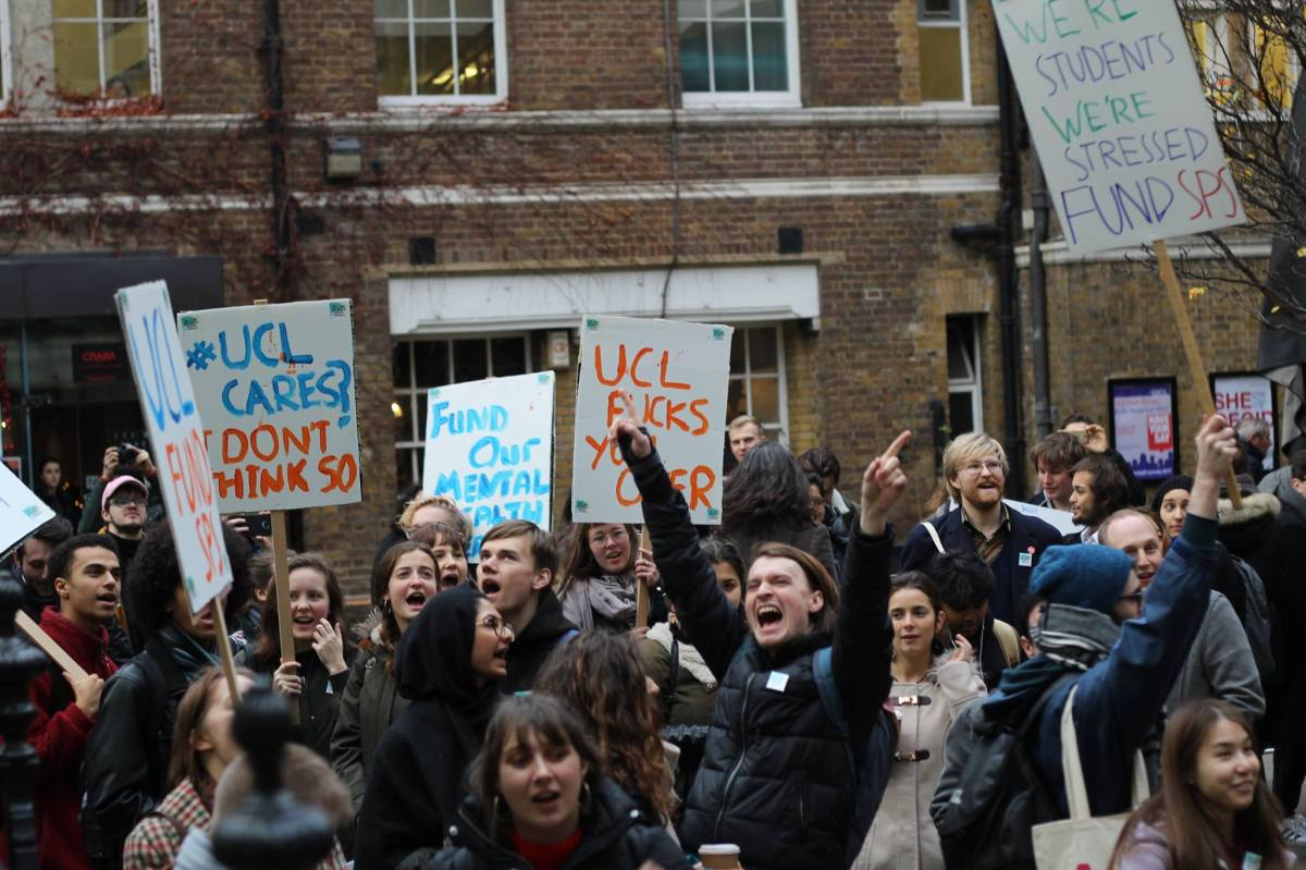 UCL: Fund Our Mental Health Services